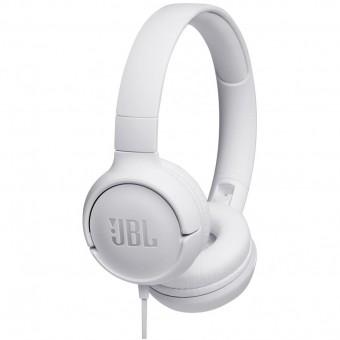 Зображення Навушники JBL T500 White (T500WHT)