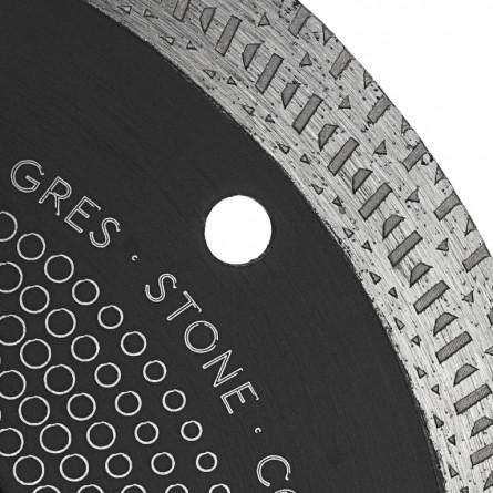 Изображение Круг отрезной Дніпро М 81922 000 Алмазний диск 125 (22,2*1,4 Екстра кераміка) - изображение 5