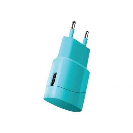 Изображение СЗУ Florence Color 1 USB 1A Aquamarin - изображение 1