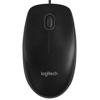Зображення Комп'ютерна миша Logitech B 100 Black