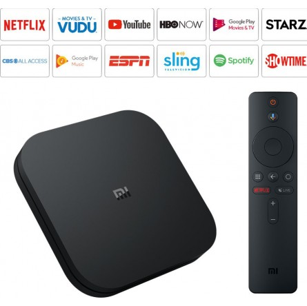 Изображение Smart TV Box Xiaomi Mi box S 4K 2/8GB Black - изображение 4