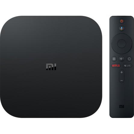 Зображення Smart TV Box Xiaomi Mi box S 4K 2/8GB Black - зображення 1