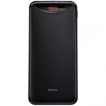 Зображення Мобільна батарея Baseus Gentleman 10000 mAh Black (PPLN-A01)