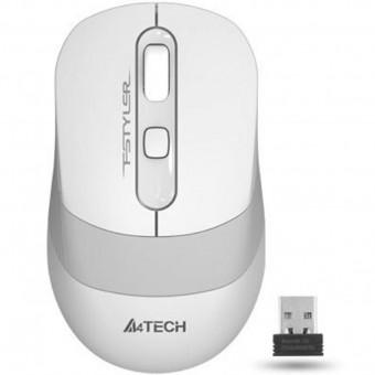 Изображение Компьютерная мыш A4Tech FG 10 White