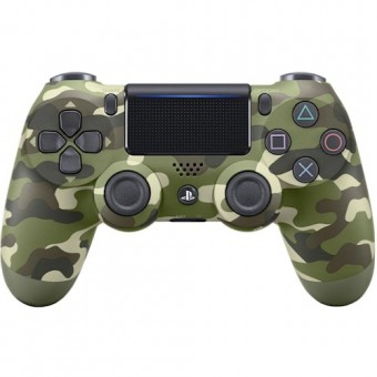 Зображення Геймпад Sony PlayStation Dualshock v2 Green Cammo