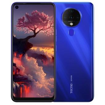 Зображення Смартфон Tecno Spark 6 (KE7) 4/128Gb Dual SIM Ocean Blue