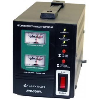 Зображення Стабілізатори напруги Luxeon AVR 500 VA Black