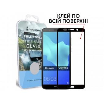 Изображение Защитное стекло Make Future H Y5 2018 Black 00 00036251