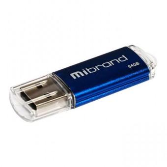 Зображення Флешка Mibrand Cougar 64 Gb Blue 2.0