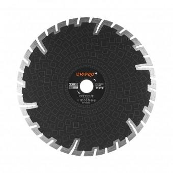 Зображення Круг відрізний Дніпро М 81960 000 Алмазний диск 230 (22,2 Глубокий різ)