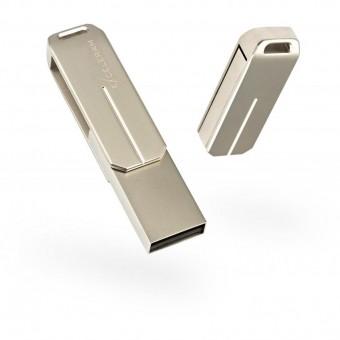 Зображення Флешка Exceleram U 3 Series Silver USB 3.1 Gen 1 32 Gb