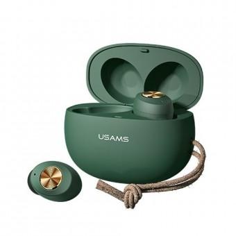 Зображення Навушники Usams ES001 Fresh AirDots Dark Green
