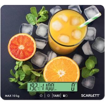 Зображення Ваги кухонні Scarlett SC-KS57P54 апельсиновий сік