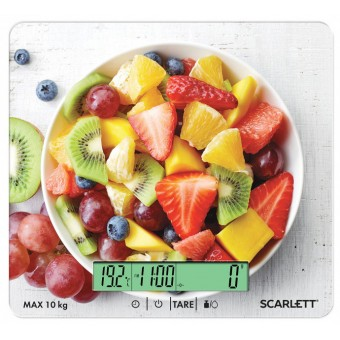 Изображение Весы кухонные Scarlett SC-KS57P48 фруктовий салат