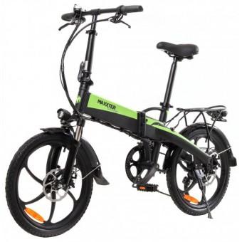 Зображення Електровелосипед Maxxter RUFFER (black-green)