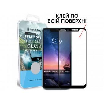 Зображення Захисне скло Make Future XR Note 6 Black 00 00037861