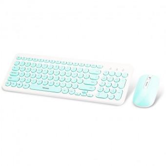 Зображення Клавіатура   мишка Wesdar KM 1 Green