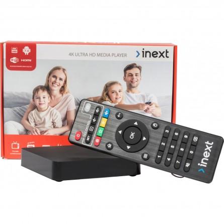 Зображення Smart TV Box iNeXT iNeXT 4K Ultra - зображення 4