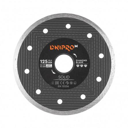 Изображение Круг отрезной Дніпро М 81951 000  Алмазний диск 125 (22,2  1.6 Solid) - изображение 1