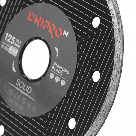 Изображение Круг отрезной Дніпро М 81951 000  Алмазний диск 125 (22,2  1.6 Solid) - изображение 3