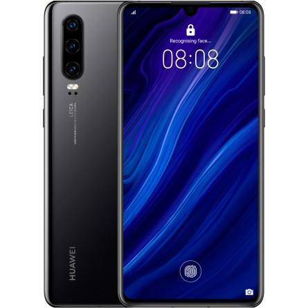 Зображення Смартфон Huawei P 30 6/128 Gb Black - зображення 1
