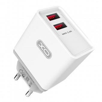 Изображение СЗУ XO L 31 2 USB 2A   Type C cable White