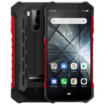 Зображення Смартфон Ulefone Armor X 3 Black Red