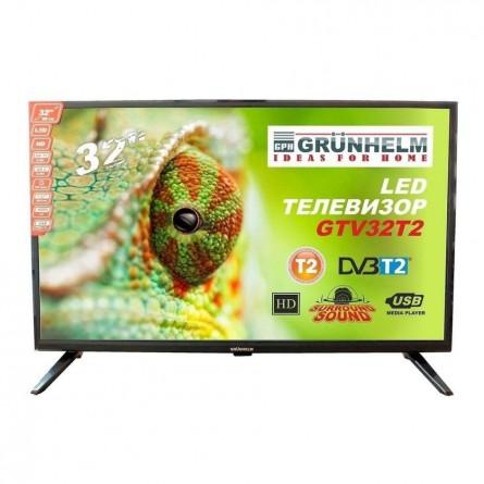 Зображення Телевізор Grunhelm GTV 32 HD 01 T2 - зображення 1