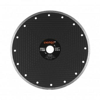 Зображення Круг відрізний Дніпро М 81958 000 Алмазний диск 230 (22,2 2,0 Solid)