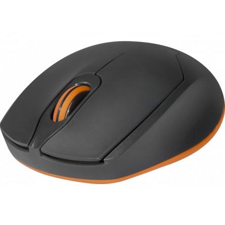 Изображение комп. миша Defender MB 865 Gray orange - изображение 3