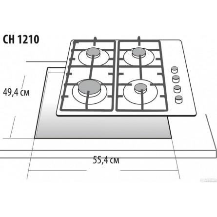 Зображення Варильна поверхня Gefest CH 1210 K 2 - зображення 2