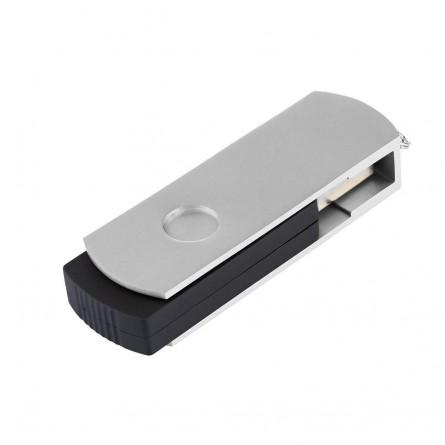 Изображение Флешка Exceleram P 2 Series Silver / Black USB 3.1 Gen 1 32 Gb - изображение 2