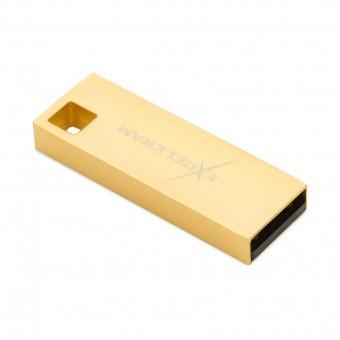 Изображение Флешка Exceleram U 1 Series Gold USB 2.0 16 Gb