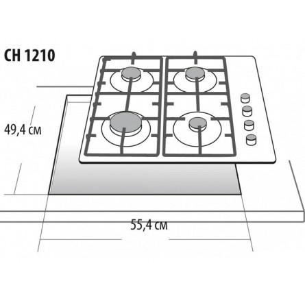 Зображення Варильна поверхня Gefest CH 1210 K 4 - зображення 3