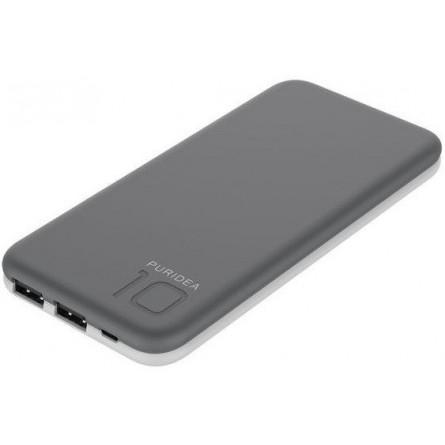 Зображення Мобільна батарея Puridea S 2 10000 mAh Li Pol Grey White - зображення 1