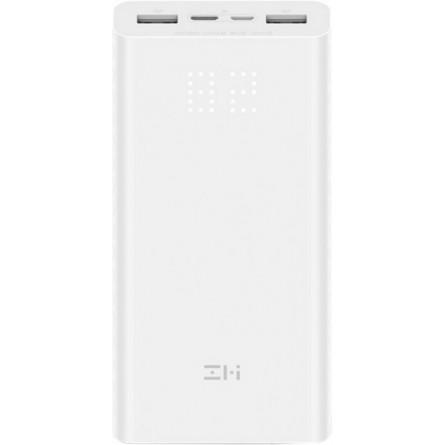 Зображення Мобільна батарея Xiaomi ZMI QB 821 Aura 20000 mAh White - зображення 1