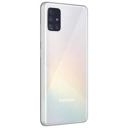 Зображення Смартфон Samsung SM-A515FZ (Galaxy A51 4/64Gb) White - зображення 3
