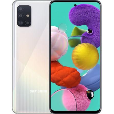 Зображення Смартфон Samsung Galaxy A 51 4/64 Gb White (A 515 F) - зображення 1