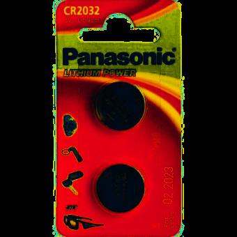 Зображення Батарейки Panasonic CR 2032 BLI
