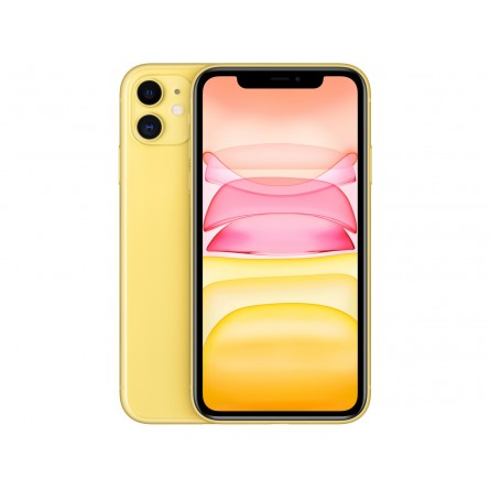 Зображення Смартфон Apple iPhone 11 128Gb Yellow - зображення 1
