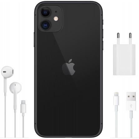 Зображення Смартфон Apple iPhone 11 64 Gb Black - зображення 4