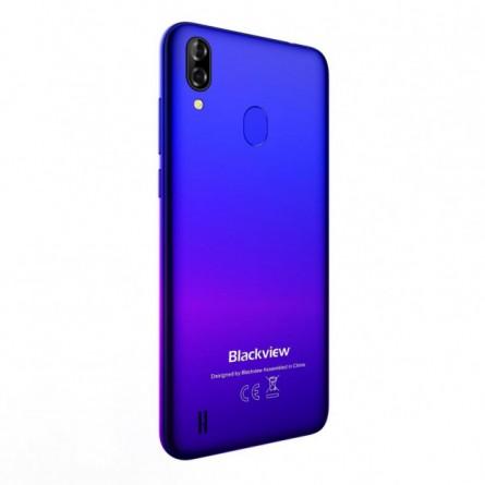 Зображення Смартфон Blackview A60 1/16GB Gradient Blue - зображення 4