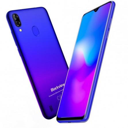 Зображення Смартфон Blackview A60 1/16GB Gradient Blue - зображення 7