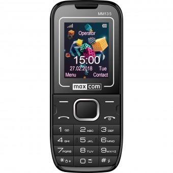 Зображення Мобільний телефон Maxcom MM135 Black-Blue