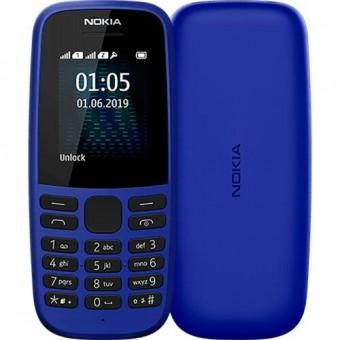 Изображение Мобильный телефон Nokia 105 SS 2019 Blue