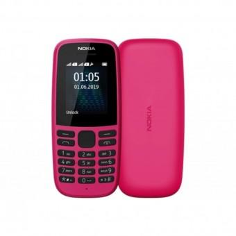 Изображение Мобильный телефон Nokia 105 SS 2019 Pink
