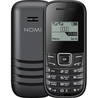 Изображение Мобильный телефон Nomi i144m Black