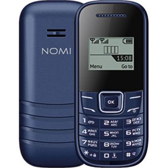 Изображение Мобильный телефон Nomi i 144 m Blue