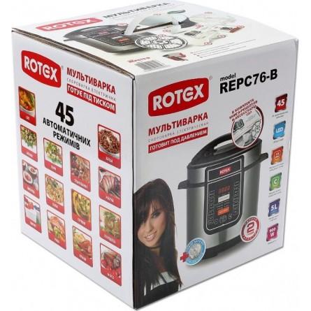 Зображення Мультиварка Rotex REPC76-B - зображення 4