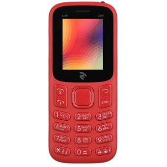 Изображение Мобильный телефон 2E E180 2019 Red